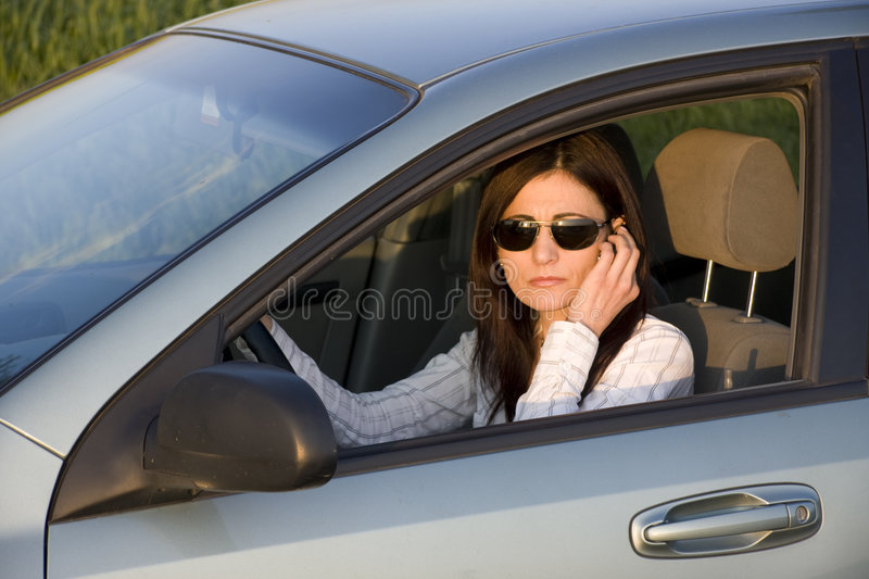 Download Talk stock image. Image of cellphone, beautiful, driver - 5223435