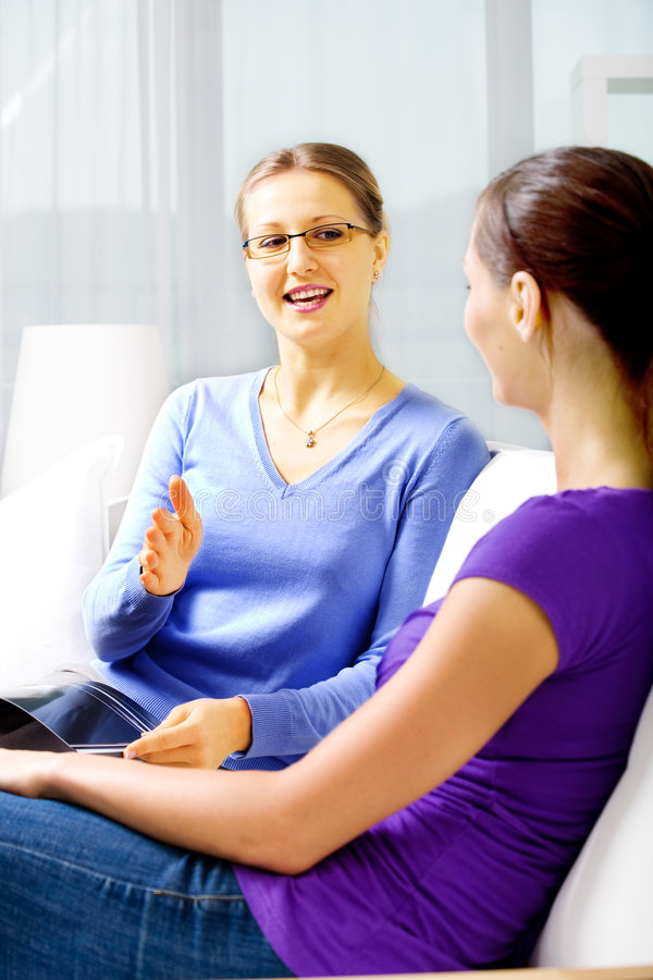 Download Talk about all stock image. Image of talk, interior, indoors - 8956035