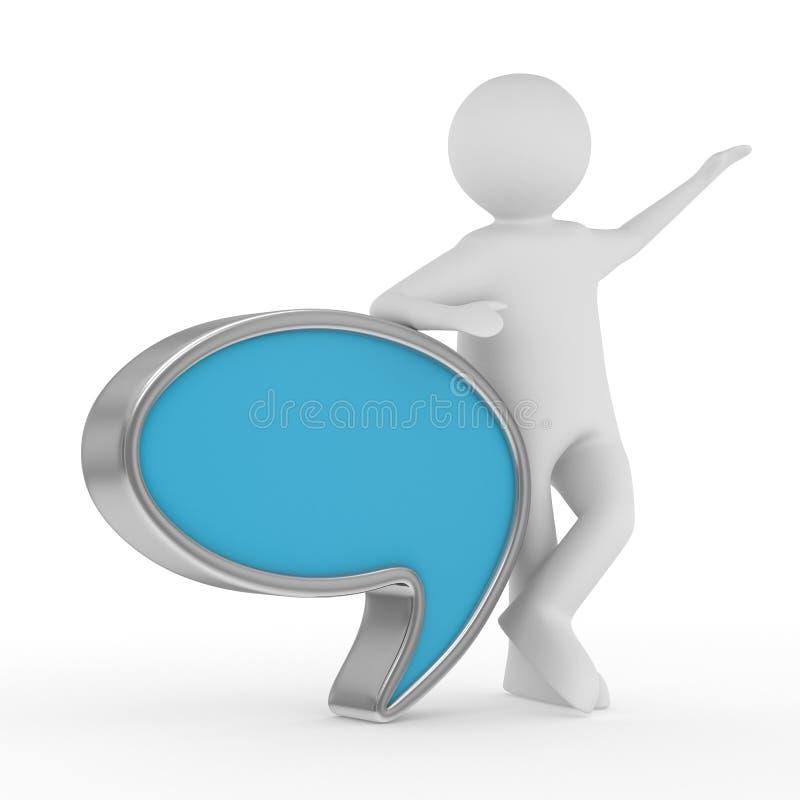 Download Talk Balloon On White Background Stock Illustration - Illustration: 27521271