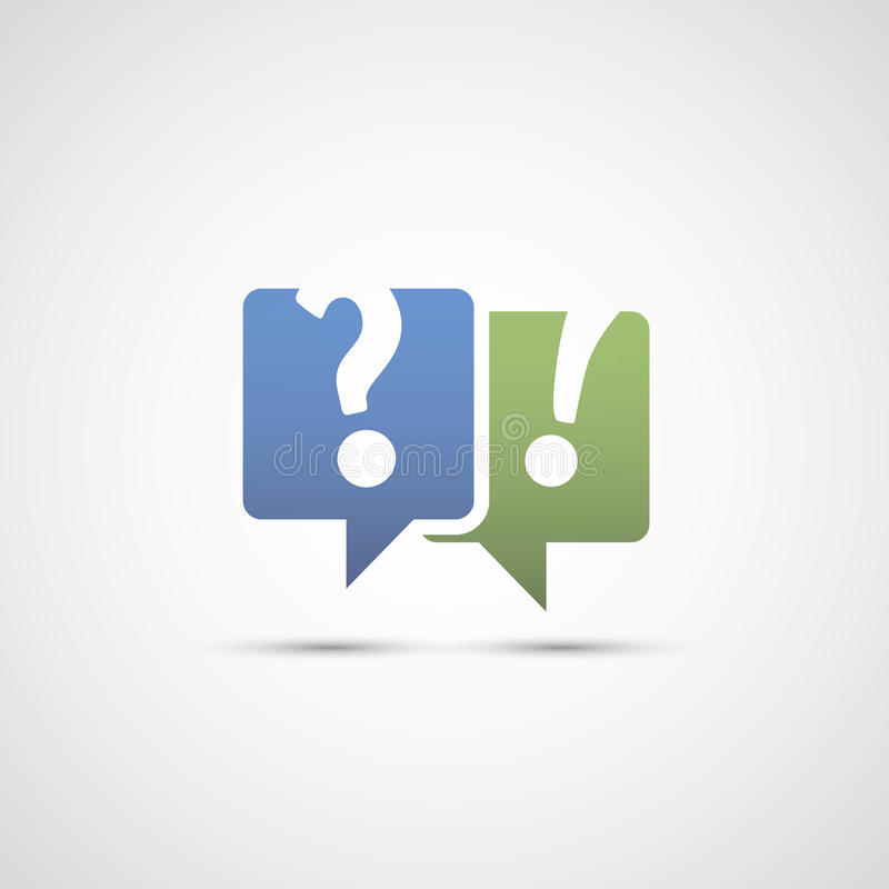 Dialog And Discussion Icon Stock Vector