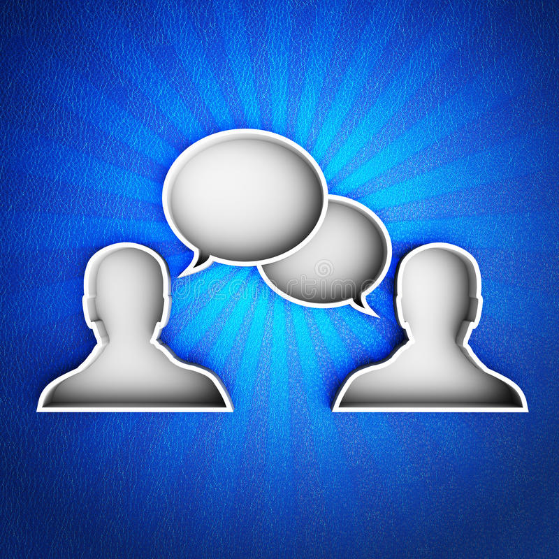 Download Talk icon stock illustration. Image of object, background - 34989520