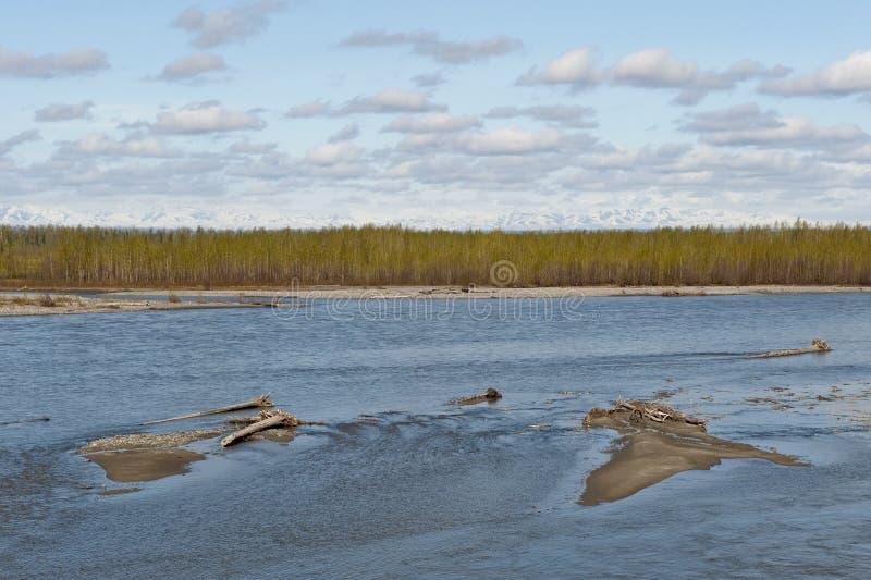 Talkeetna Fluss stockbilder