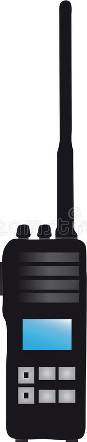 Talkie-walkie illustration de vecteur
