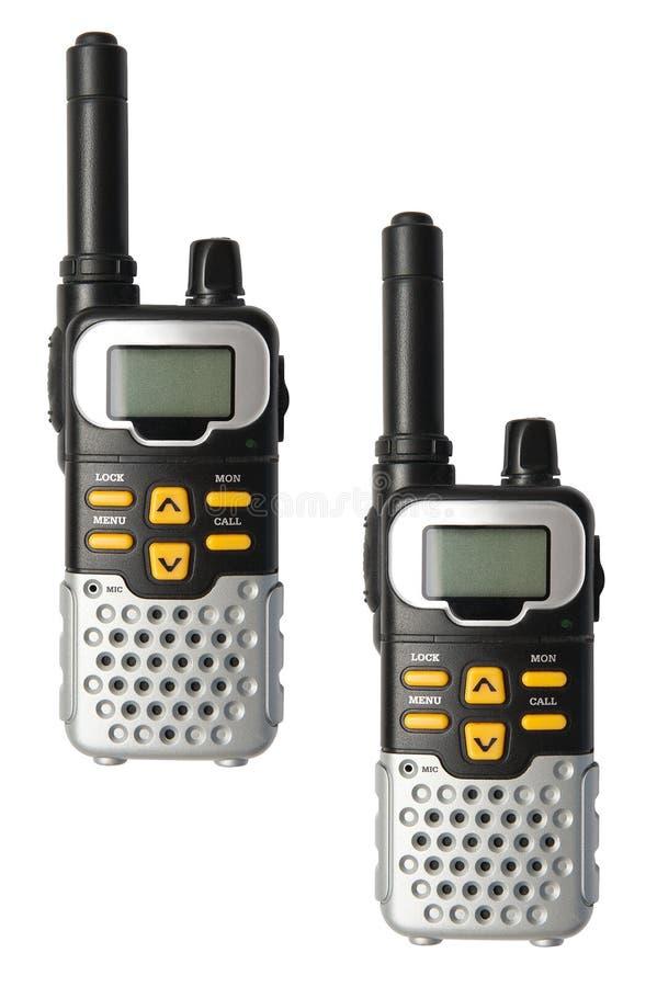 Talkie-walkie images stock