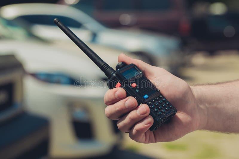 Talkie - walkie photographie stock libre de droits