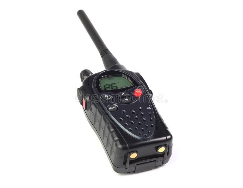 Talkie - walkie sur un blanc photos stock