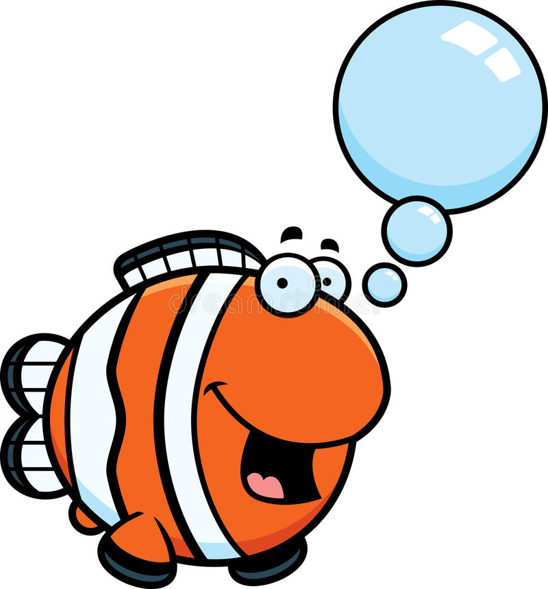 talking cartoon clownfish stock vector illustration of clipart rh dreamstime com  cute clownfish clipart
