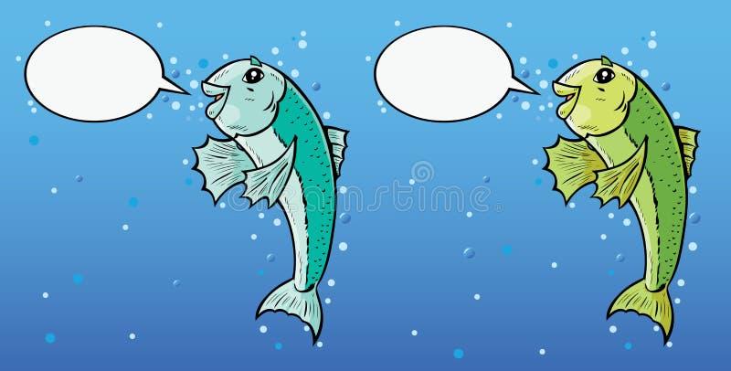 Download Talking Fish stock vector. Illustration of talking, aquatic - 14294035