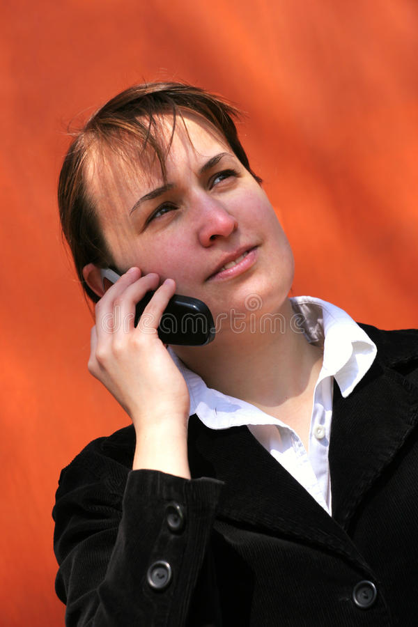 Download Talking Mobile Phone Stock Image - Image: 20743161