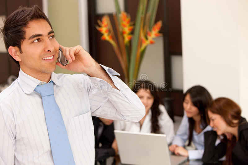 Download Talking on the phone stock image. Image of phone, smiling - 10265415