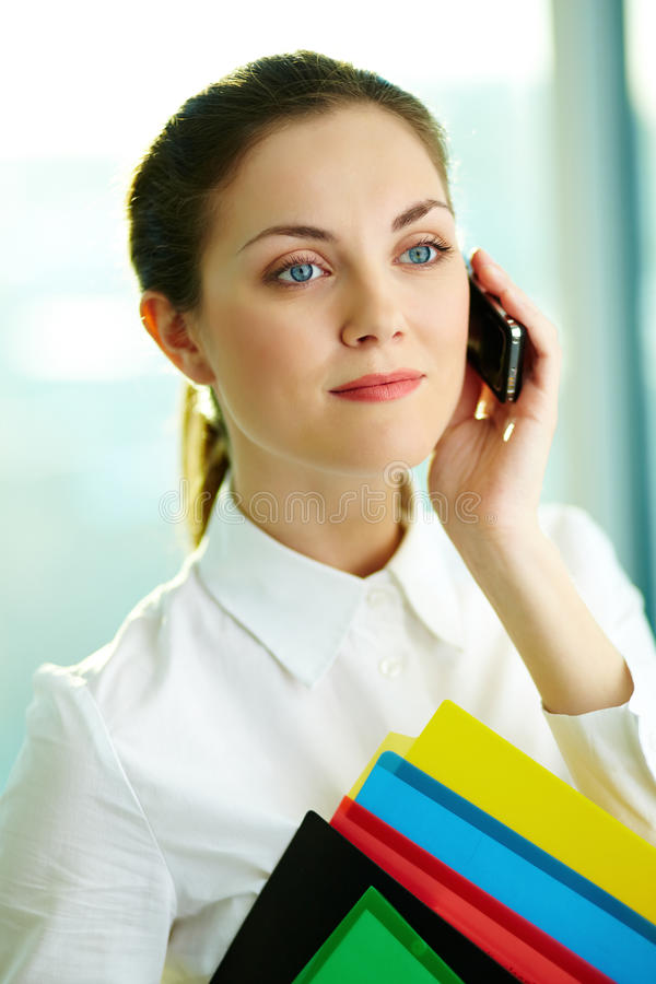 Download Talking on the phone stock photo. Image of lifestyle - 24738654