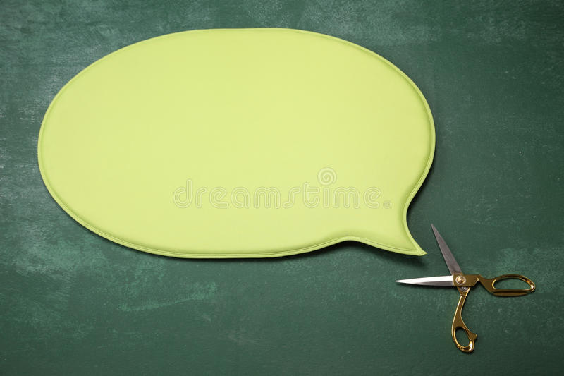 Talking scissors stock photos