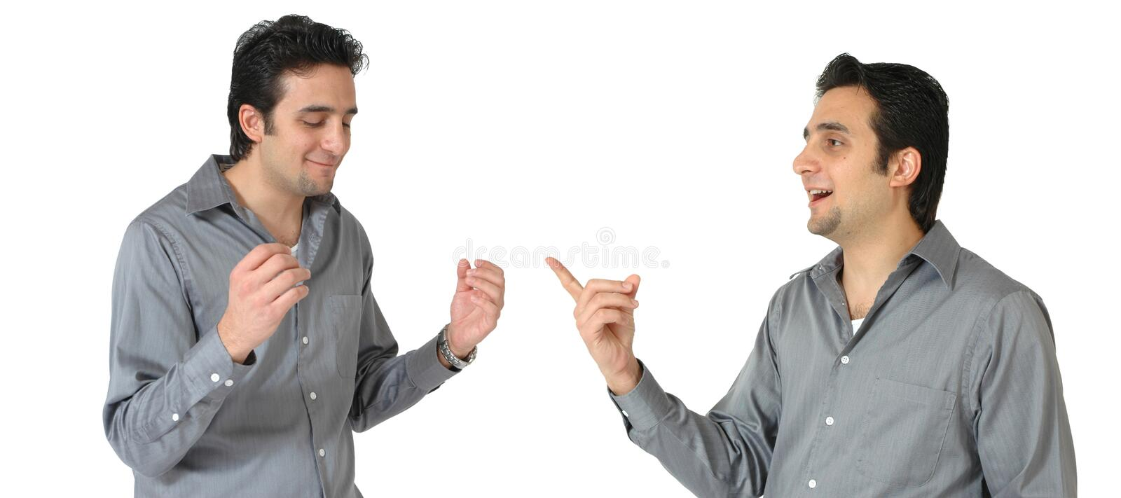 Talking To Yourself stock images