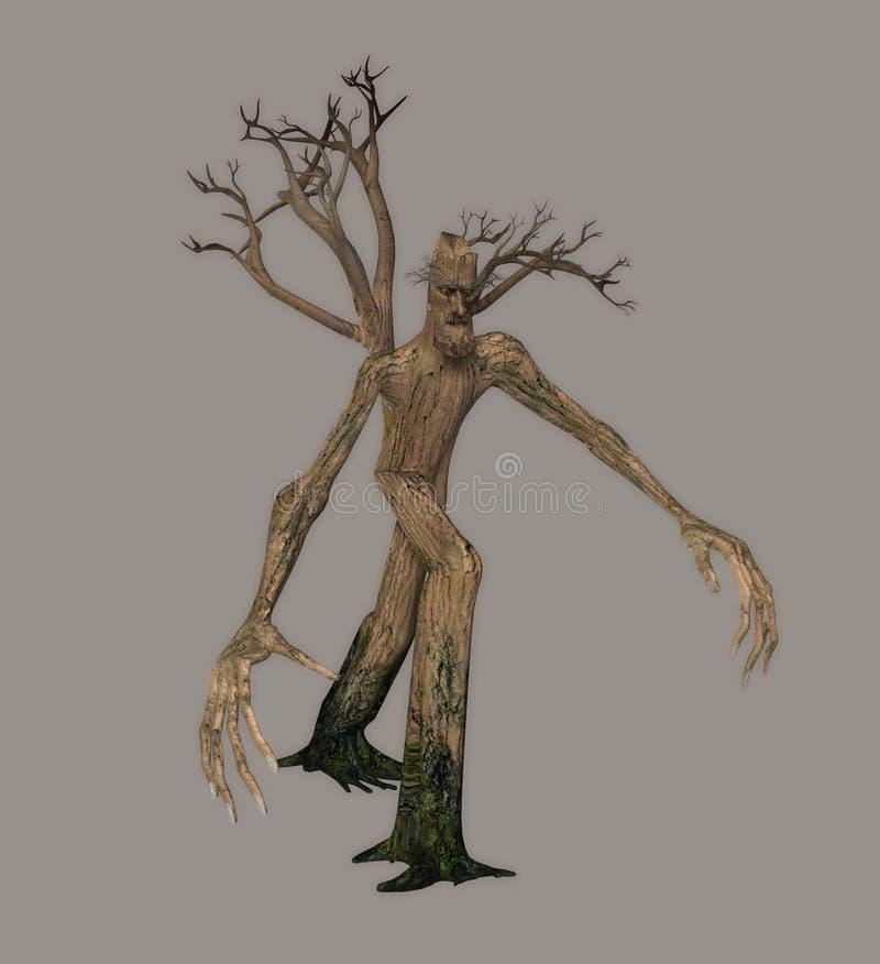 Download Talking Tree stock illustration. Image of rendered, stocks - 5241920