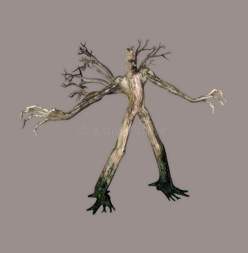 Talking Tree vector illustration