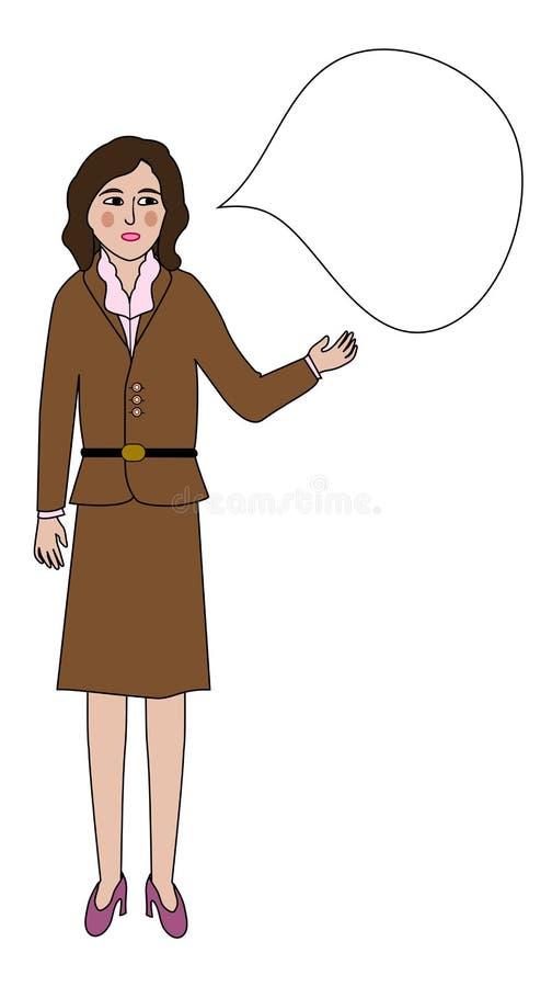 Free Talking Woman Royalty Free Stock Image - 32517586