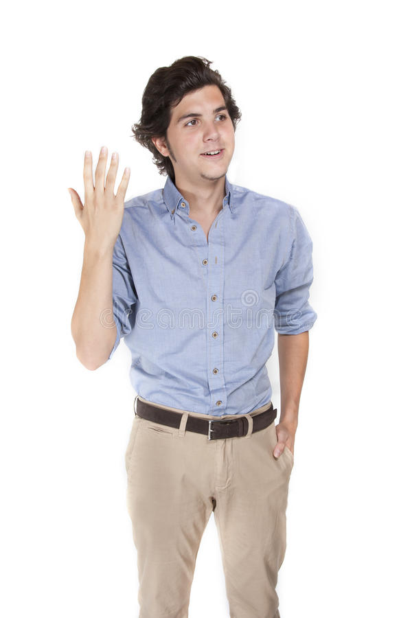 Download Talking Young Man Stock Photography - Image: 26570492
