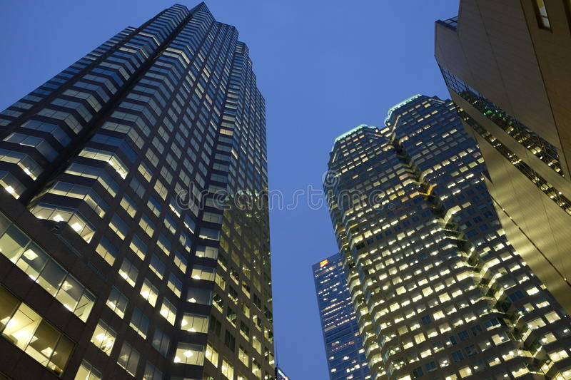 Tall building in city royalty free stock photos