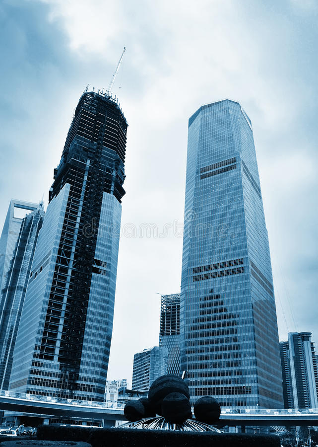 Download Tall buildings stock image. Image of futuristic, downtown - 16916171