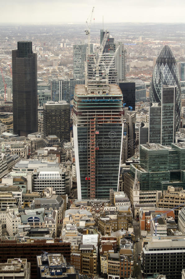 Download Tall Buildings, City Of London Stock Photo - Image: 29179078