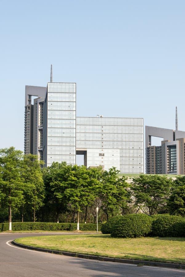 Tall buildings royalty free stock photos