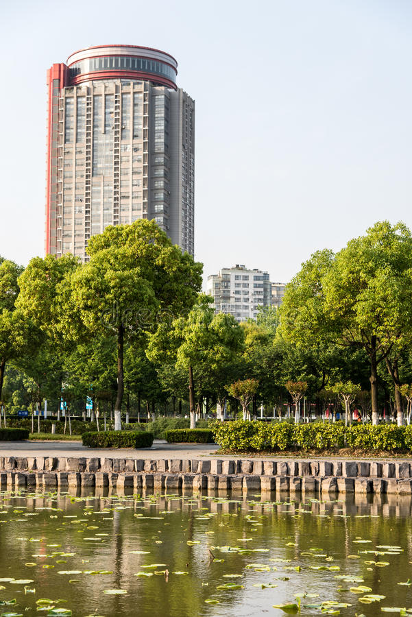 Tall buildings stock photo