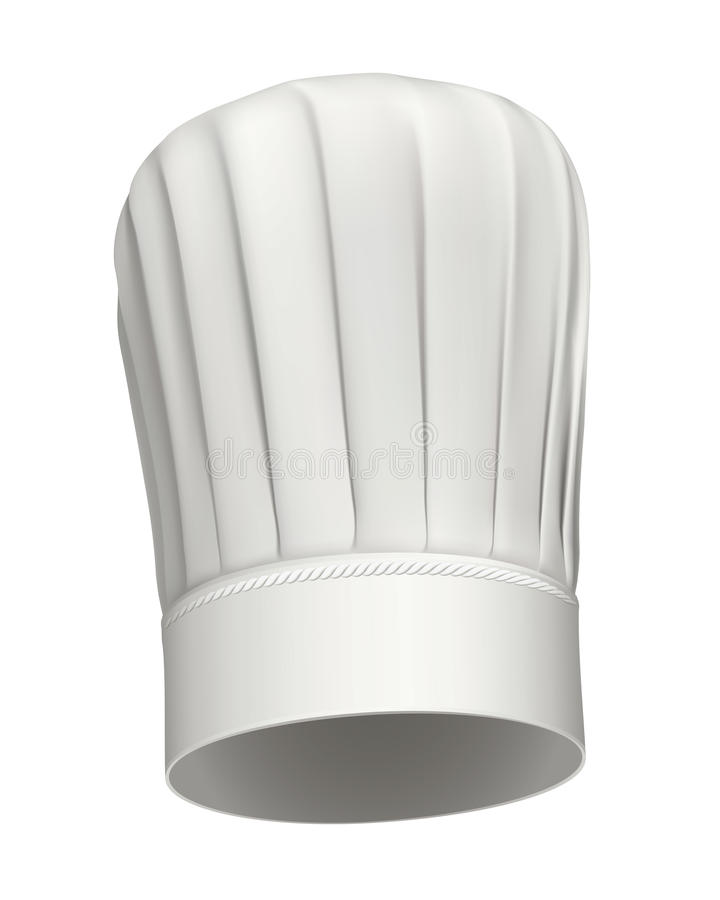 Tall Chef hat vector icon