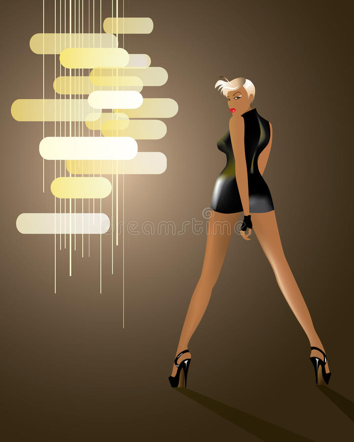Download Tall Disco Girl Stock Images - Image: 11004734