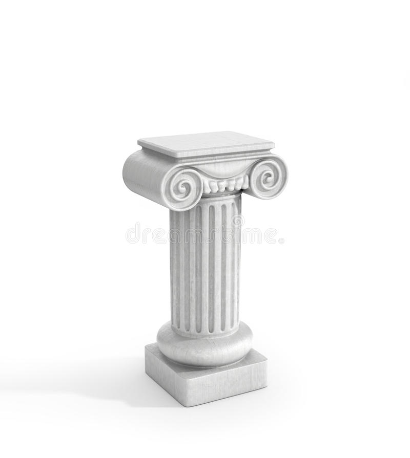 Free Tall Doric Column Pillar Stock Image - 65956401