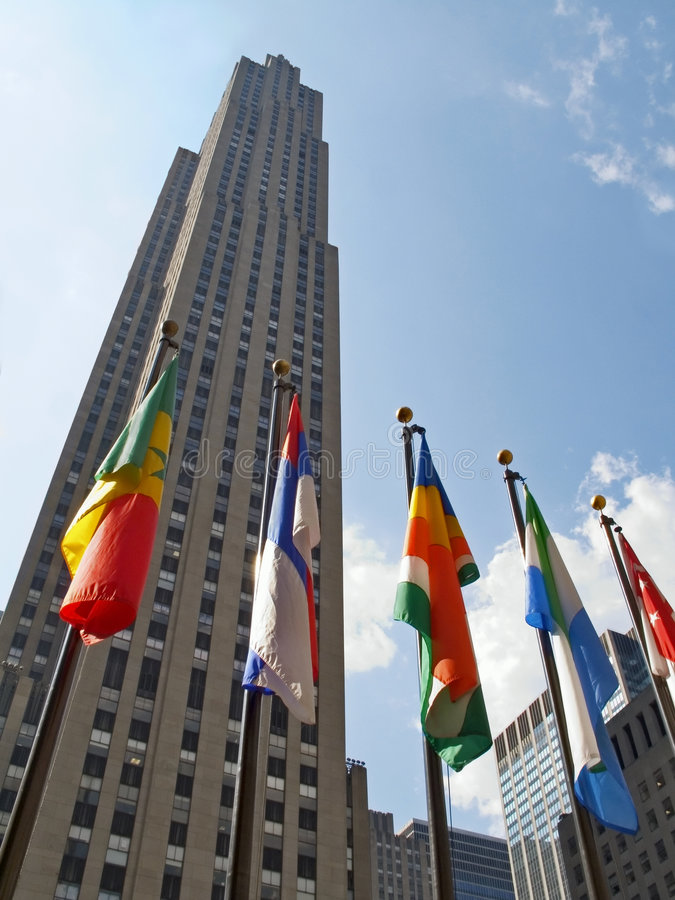 Tall Flags royalty free stock photos