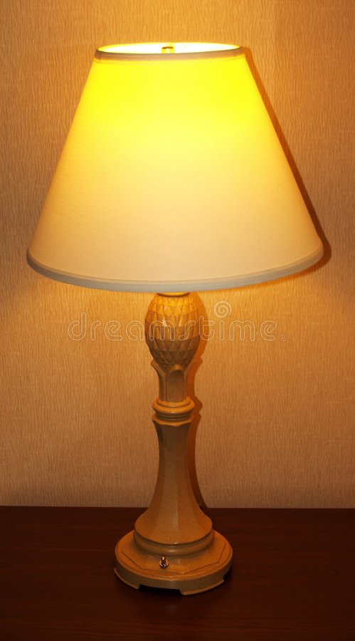 Tall Lamp stock images