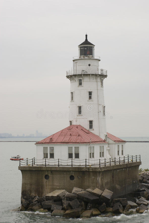 Tall Light House stock images