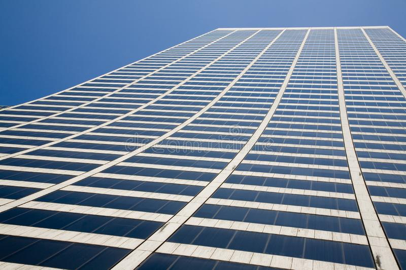 Tall office building stock image