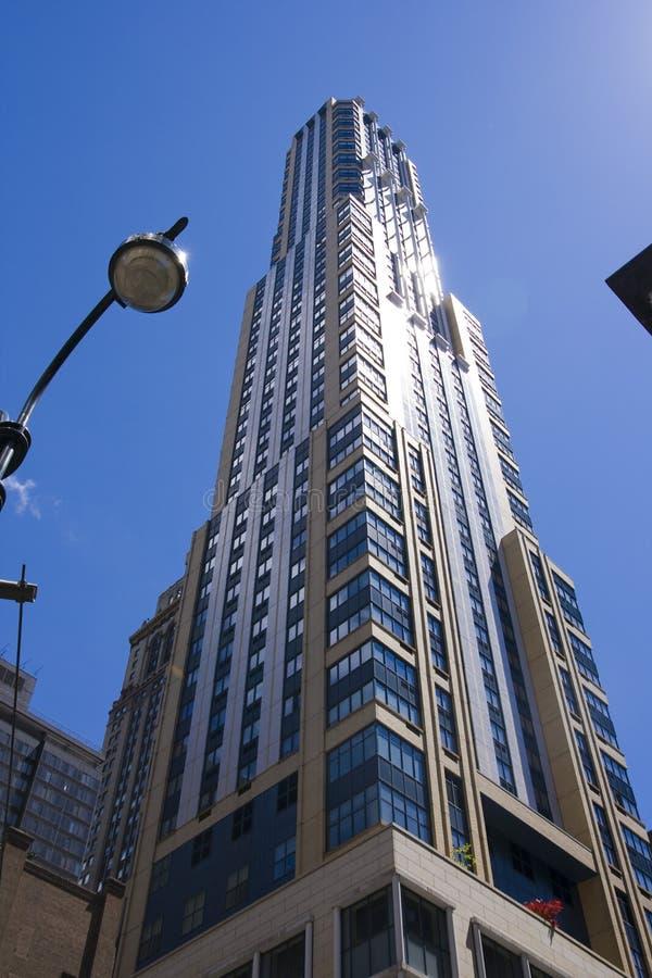 Tall office building. New York City stock photo