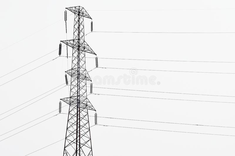 energy pylon stock photo  image of pollution  built  power