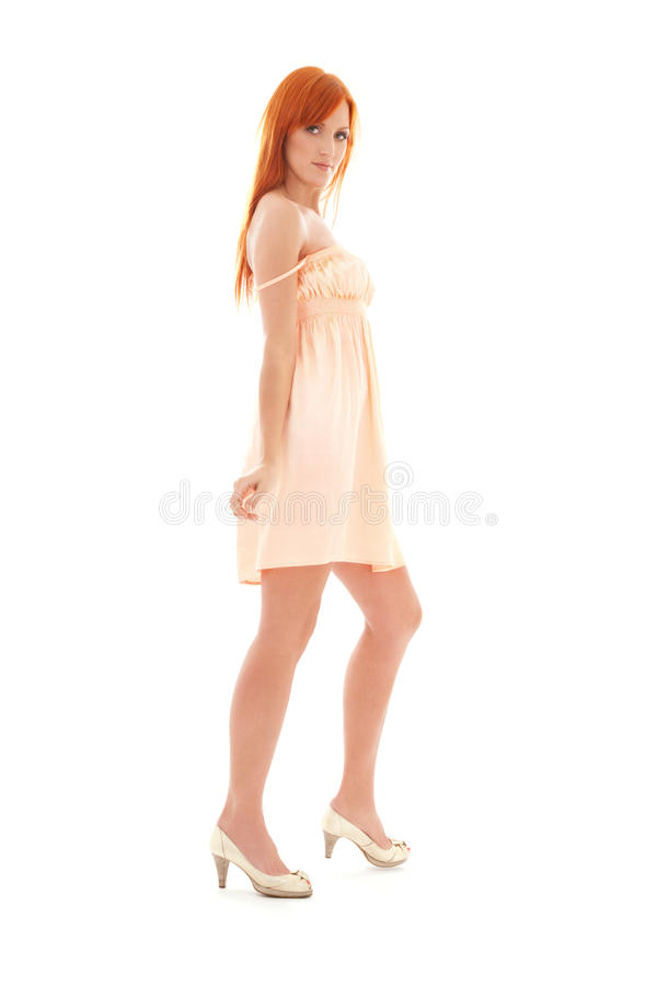 Download Tall redhead stock photo. Image of isolated, calm, lovely - 41480642