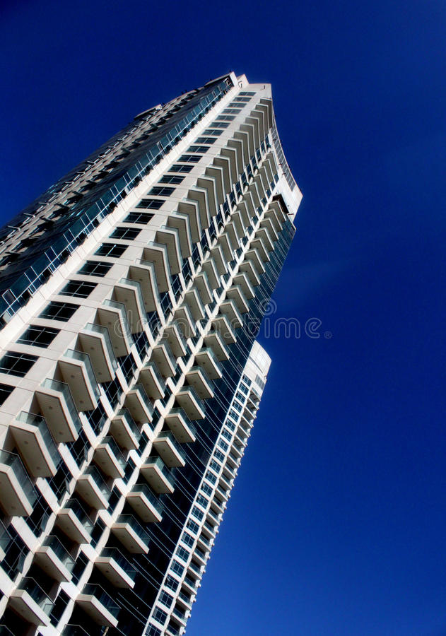 Tall Residential Building royalty free stock photos