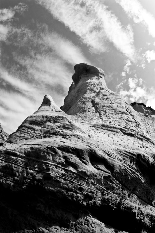 Tall rocks stock images