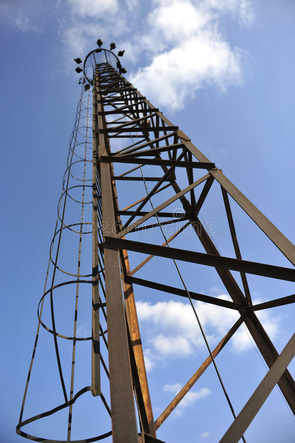 Free Tall Rusty Old Tower Stock Images - 8344164