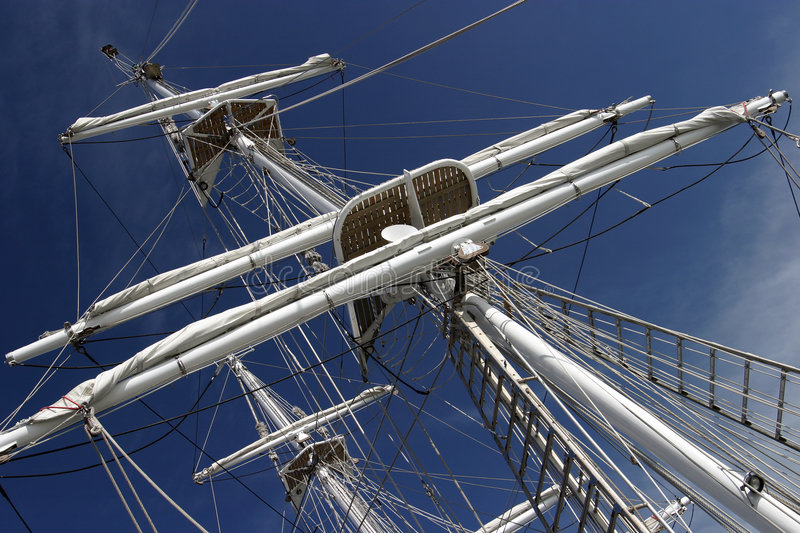 Download Tall Ship stock photo. Image of rigging, flag, boat, schooner - 116078