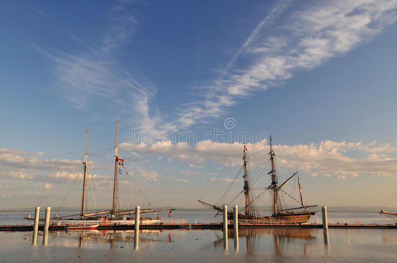 Download Tall ship stock photo. Image of wind, sail, mast, vintage - 19956074