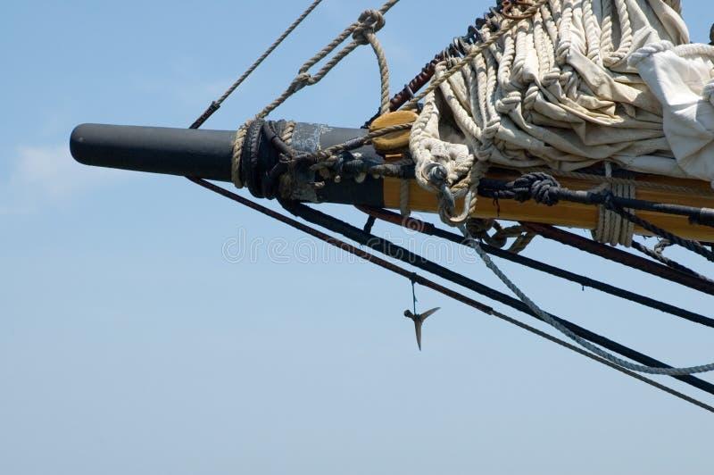 Tall Ship Detail Stock Photo