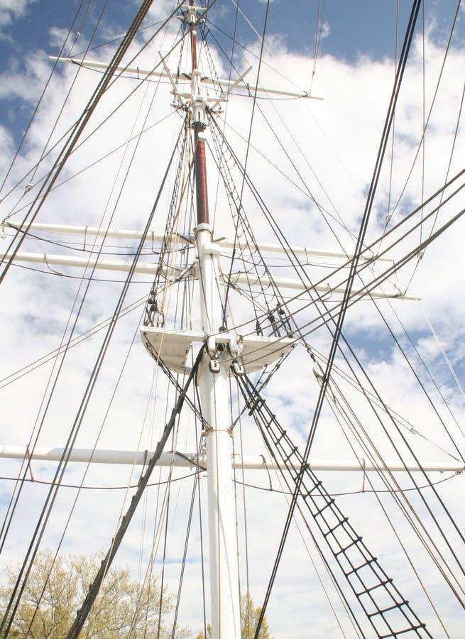 Free Tall Ship Mast Stock Image - 128831
