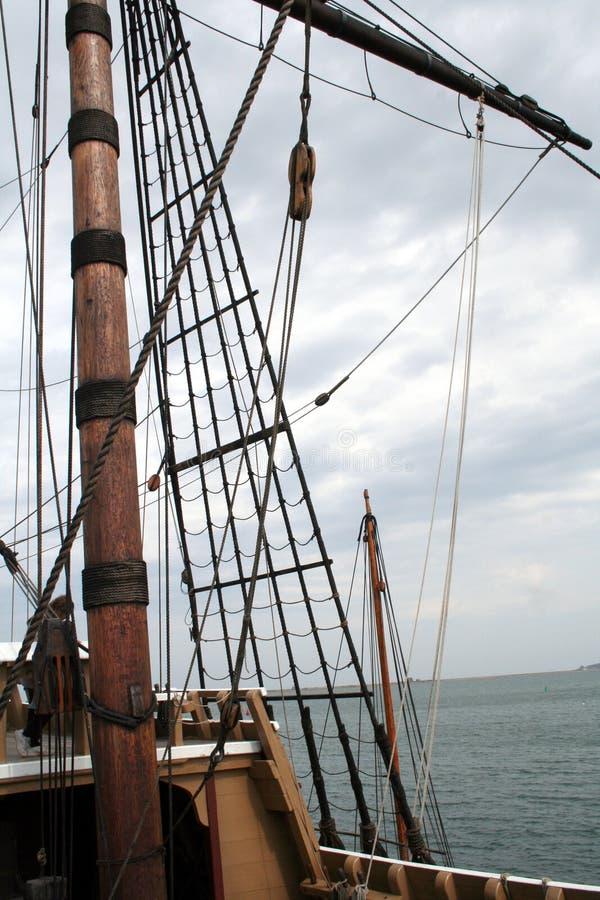 Free Tall Ship Mast Royalty Free Stock Photos - 686088