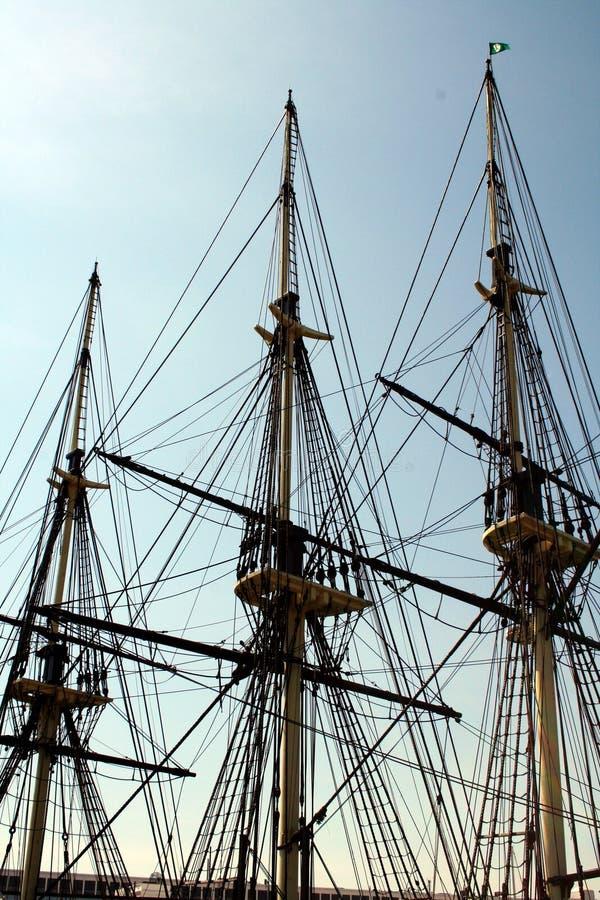 Free Tall Ship Mast Stock Photo - 686350
