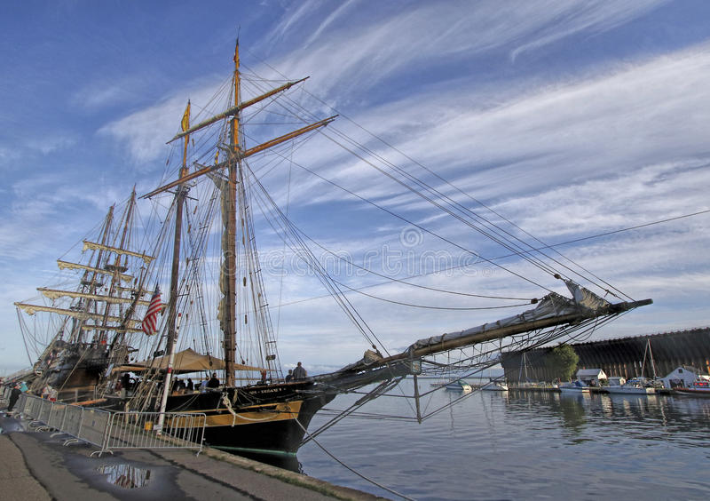 Tall Ships America royalty free stock photo