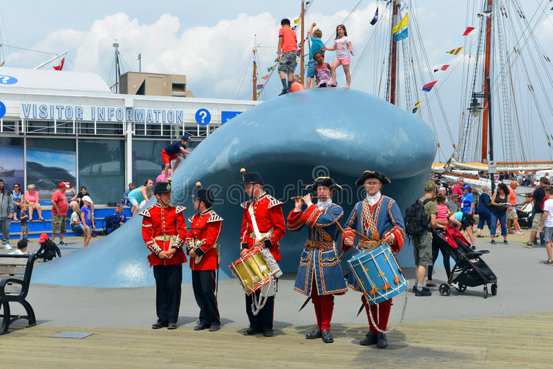 Tall Ships event in Halifax stock images