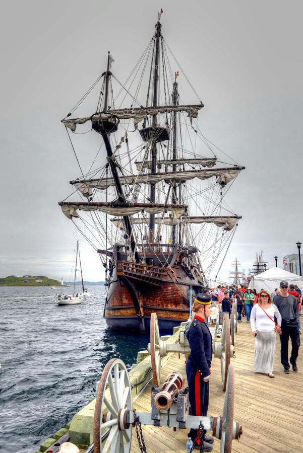 Tall Ships event in Halifax royalty free stock photos