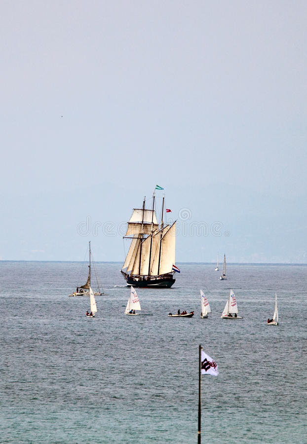 Download Tall Ships Regatta 2010 - The Ship Oosterschelde Editorial Stock Image - Image: 13831419
