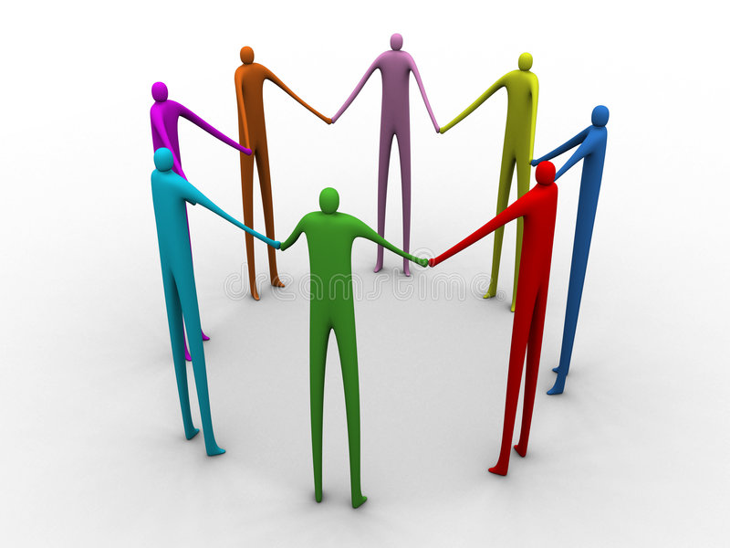 Download Tall Team #1 stock illustration. Image of division, together - 346937